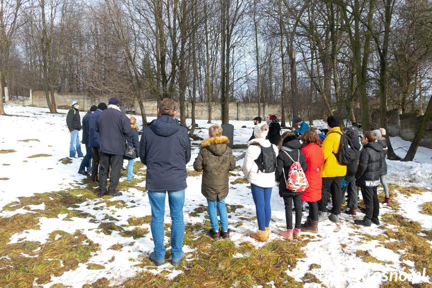 Dzień pamięci o ofiarach holokaustu w Krośnie