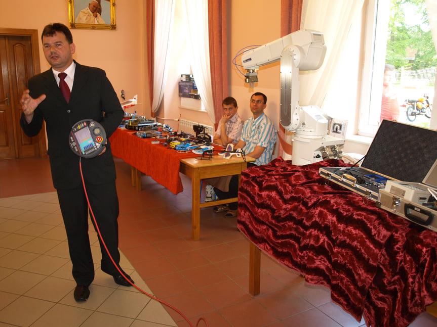 Dzień Techniki w Michalickim Zespole Szkół Ponadgimnazjalnych w Miejscu Piastowym