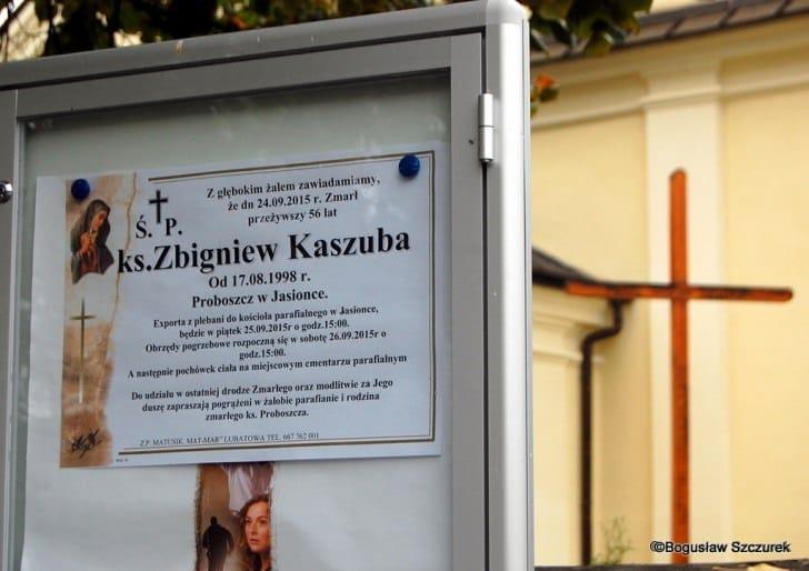 Eksporta ciała ks. Zbigniewa Kaszuby