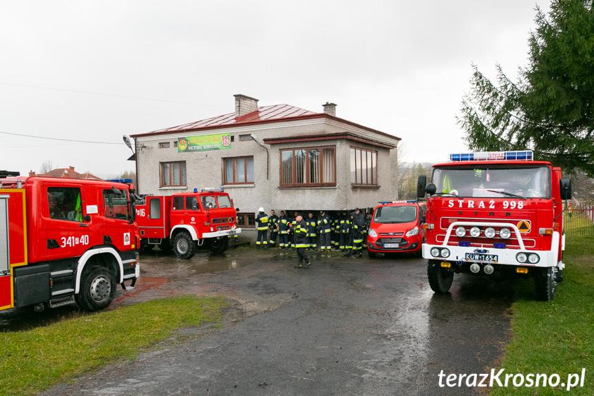Gminne ćwiczenia strażaków w Kobylanach