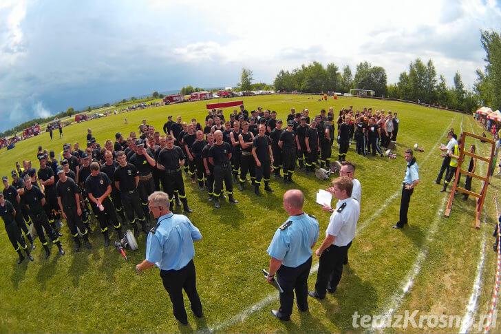 Gminne Zawody Sportowo - Pożarnicze Gminy Chorkówka w Szczepańcowej