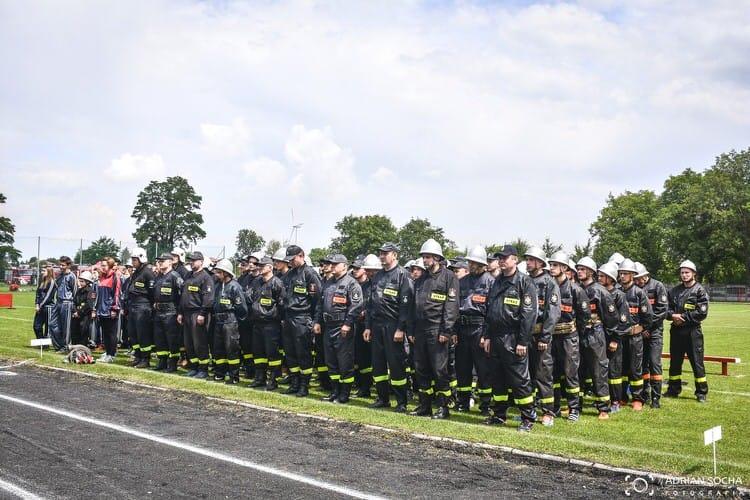 Gminne zawody - sportowo - pożarnicze gminy Rymanów