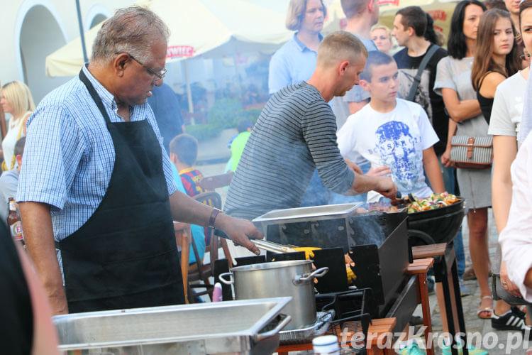 Grillowanie na rynku w Krośnie