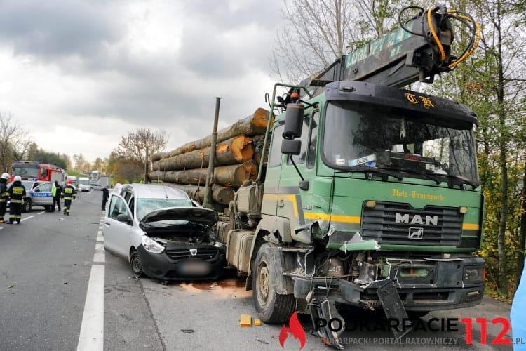 Groźny wypadek w Klimkówce