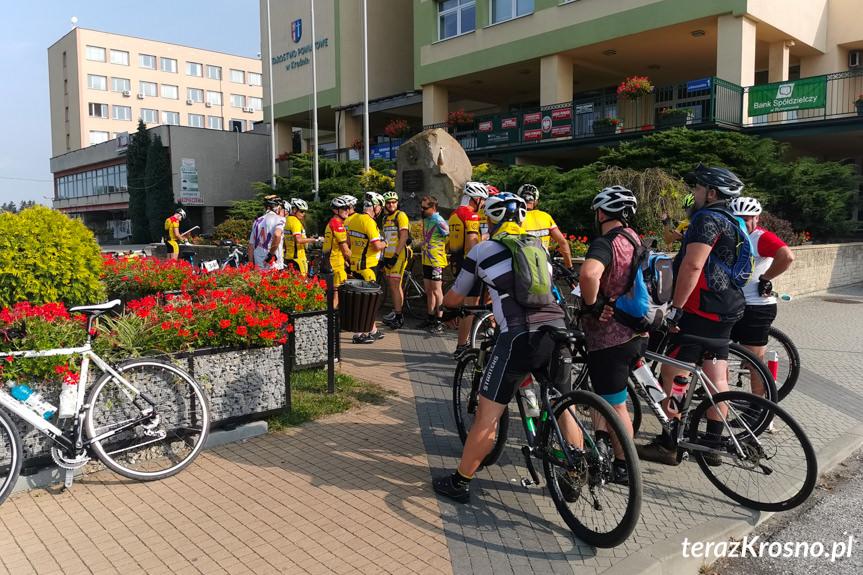 I rajd rowerowy drogami powiatu krośnieńskiego