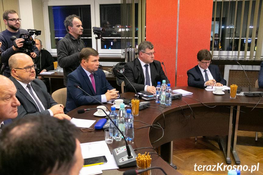 I sesja Rady Powiatu Krośnieńskiego