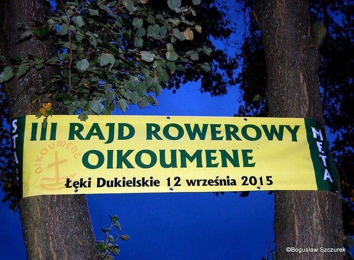 III Rajd Rowerowy Oikoumene