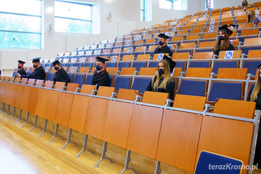 Inauguracja roku akademickiego 2020/2021 KPU w Krośnie