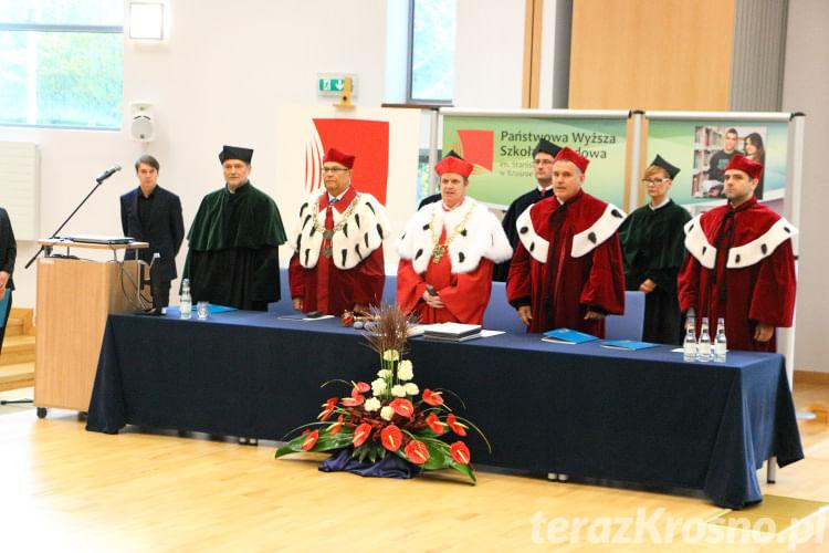 Inauguracja roku akademickiego PWSZ Krosno
