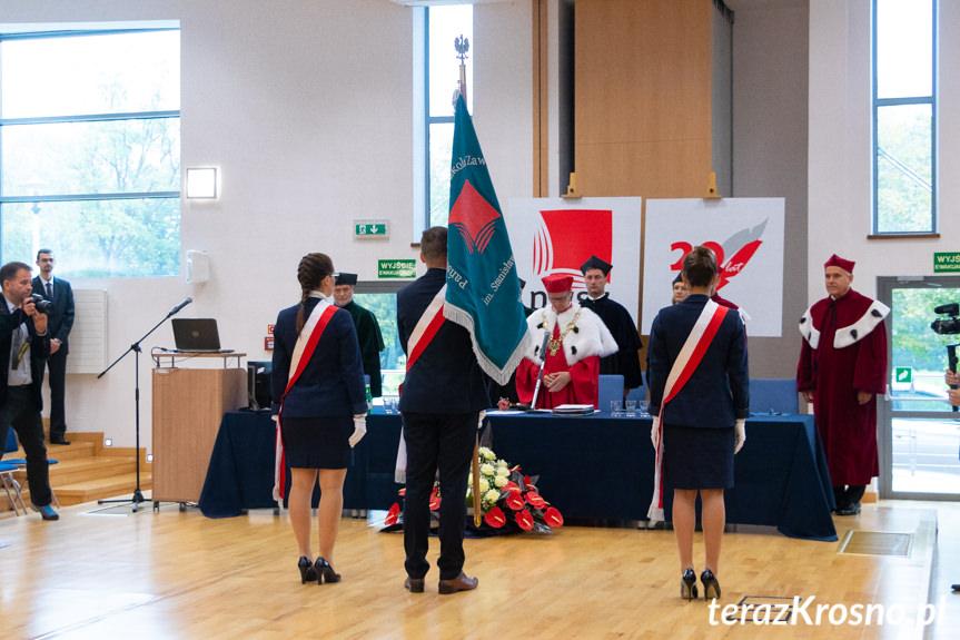 Inauguracja roku akademickiego w PWSZ Krosno