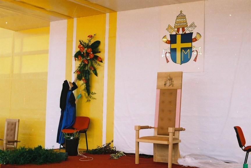 Jan Paweł II był w Dukli i Krośnie