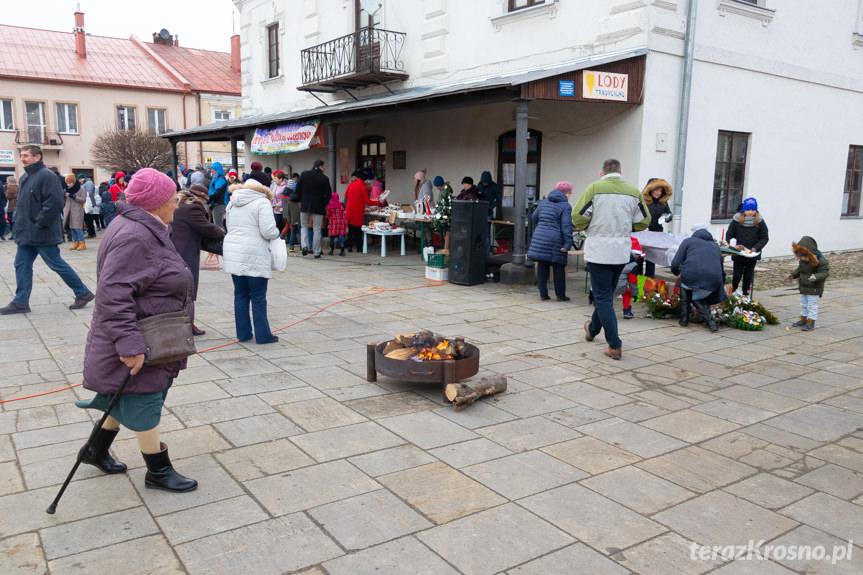 Jarmark Bożonarodzeniowy na rynku w Dukli