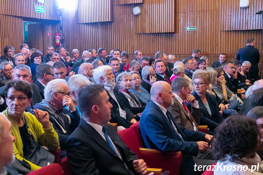 Jarosław Kaczyński w Krośnie, konwencja PiS