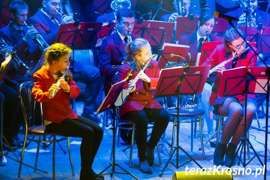 Karnawałowy Koncert Orkiestry Dętej Gminy Miejsce Piastowe