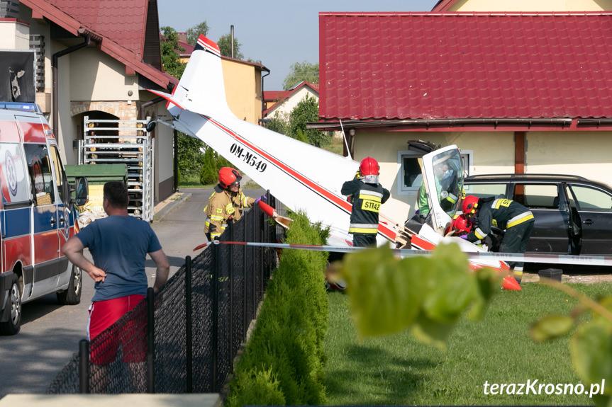 Katastrofa samolotu w Krośnie