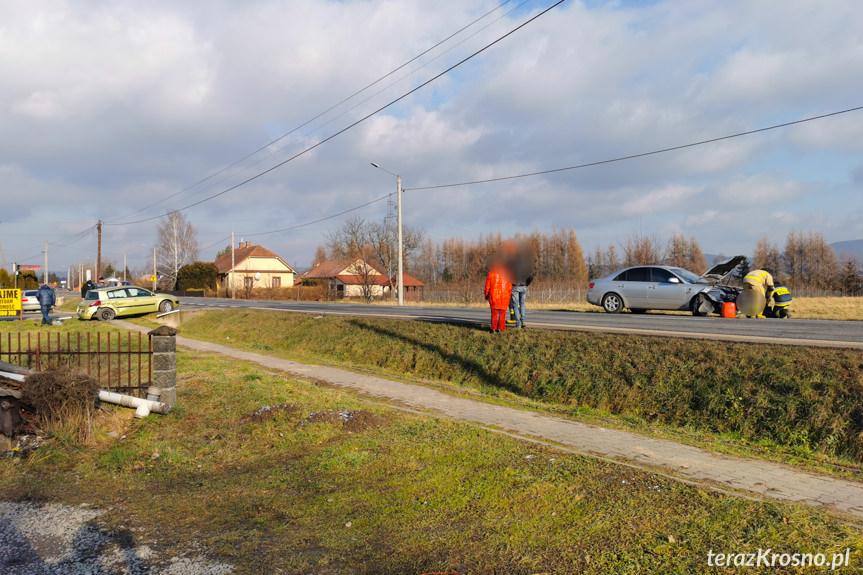 Kolizja na Rzeszowskiej w Krośnie