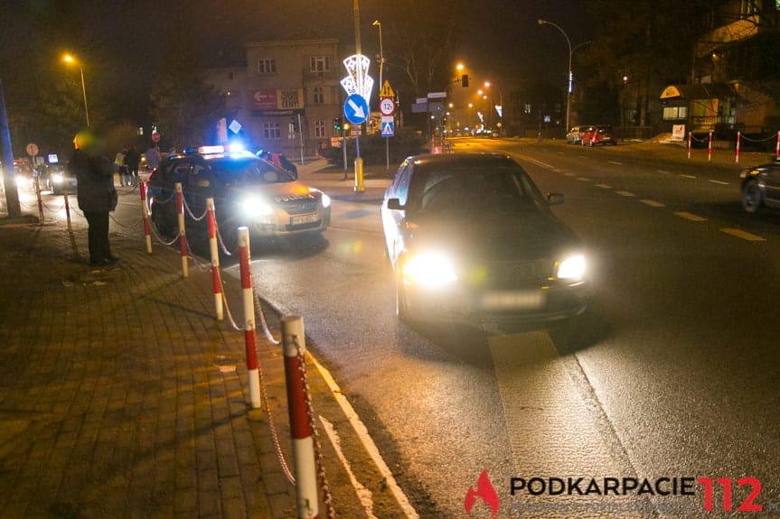 Kolizja na skrzyżowaniu w Krośnie
