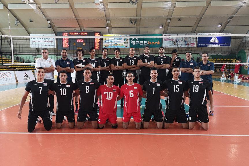 Mecz siatkówki Polska - Egipt