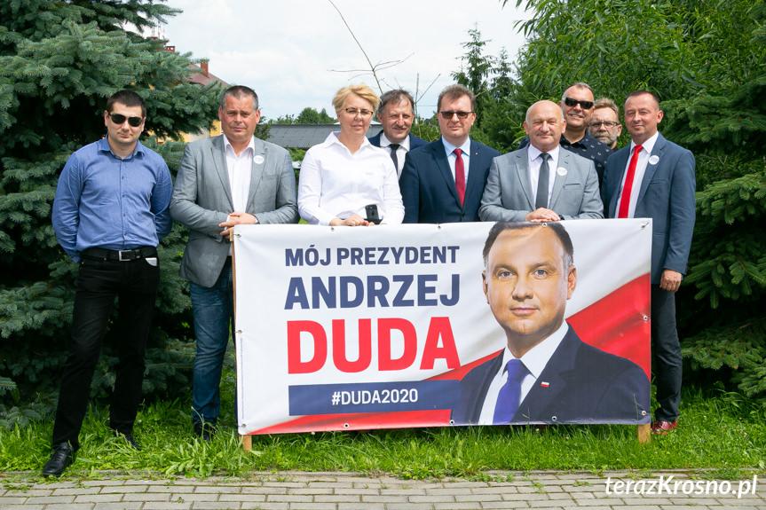 Minister Gliński w gminie Chorkówka