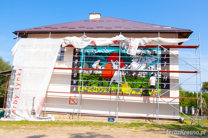 Mural w Cergowej