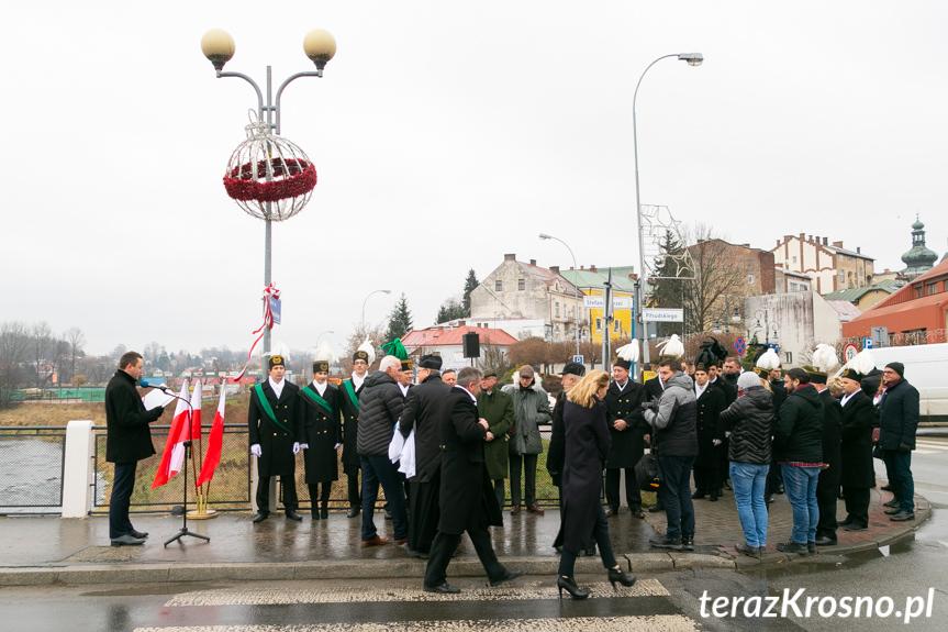 Nadanie imienia mostu w Krośnie