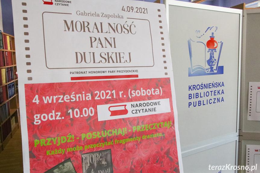 Narodowe Czytanie w Krośnieńskiej Bibliotece Publicznej