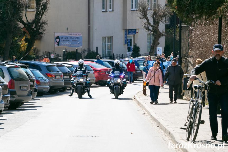 Niebieski Marsz w Krośnie