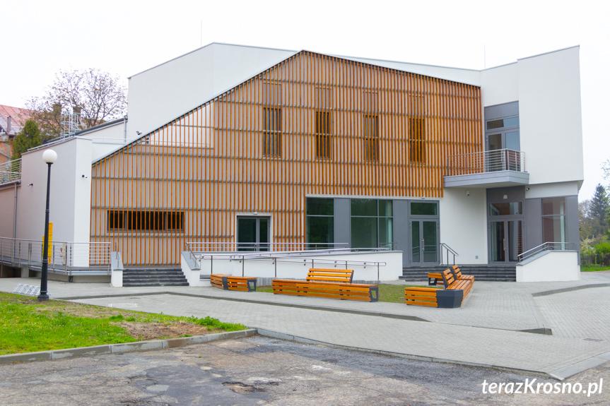 Nowy budynek GOK w Rymanowie