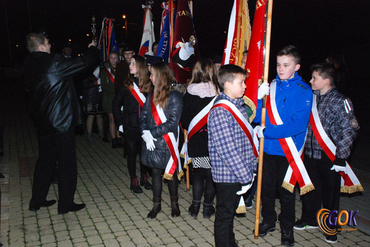 Obchodów Święta Niepodległości w Łężanach