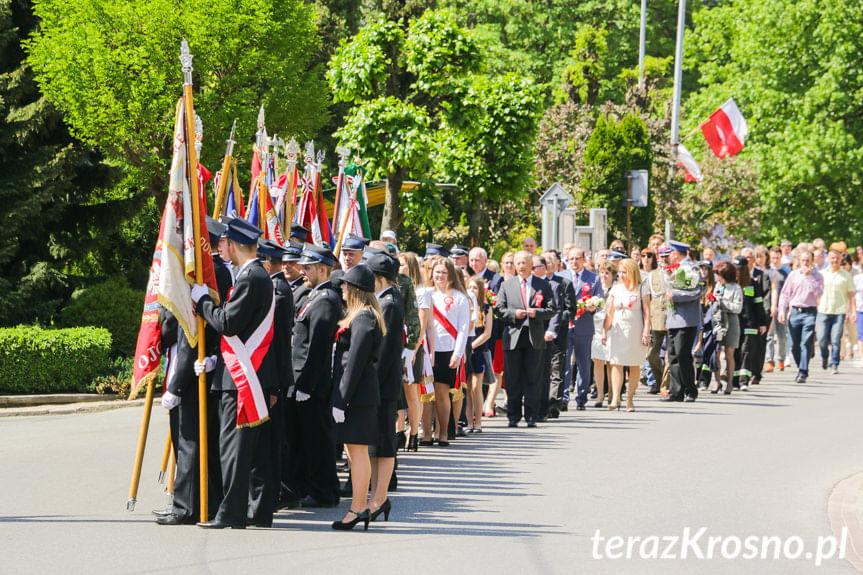 Obchody 227. rocznicy uchwalenia Konstytucji 3 Maja w Jedliczu