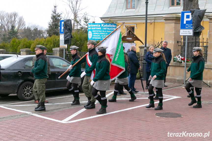 """Obchody Narodowego Dnia Pamięci """"Żołnierzy Wyklętych"""" w Krośnie"""