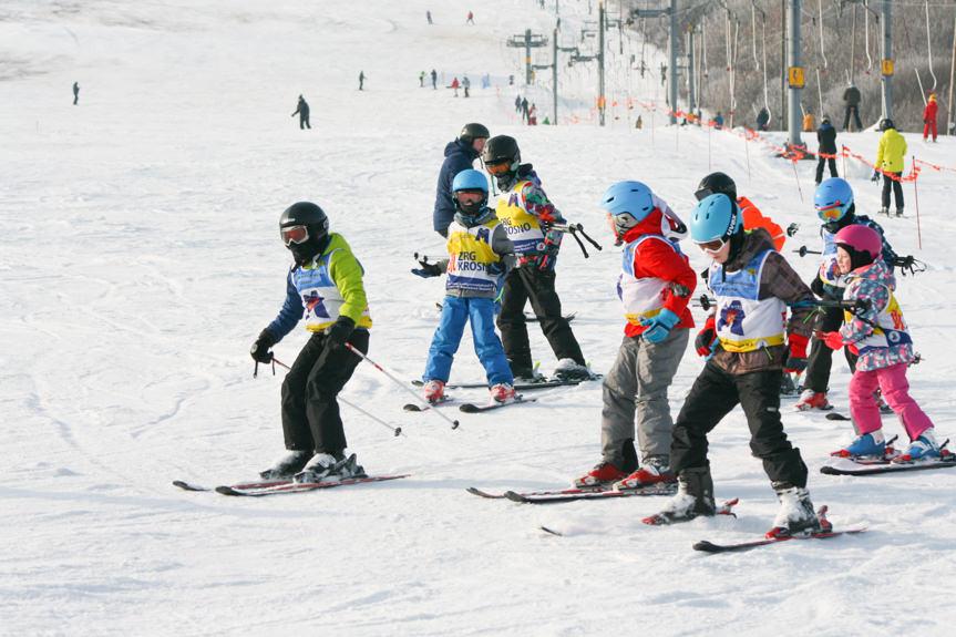 Obóz narciarski w Chyrowej