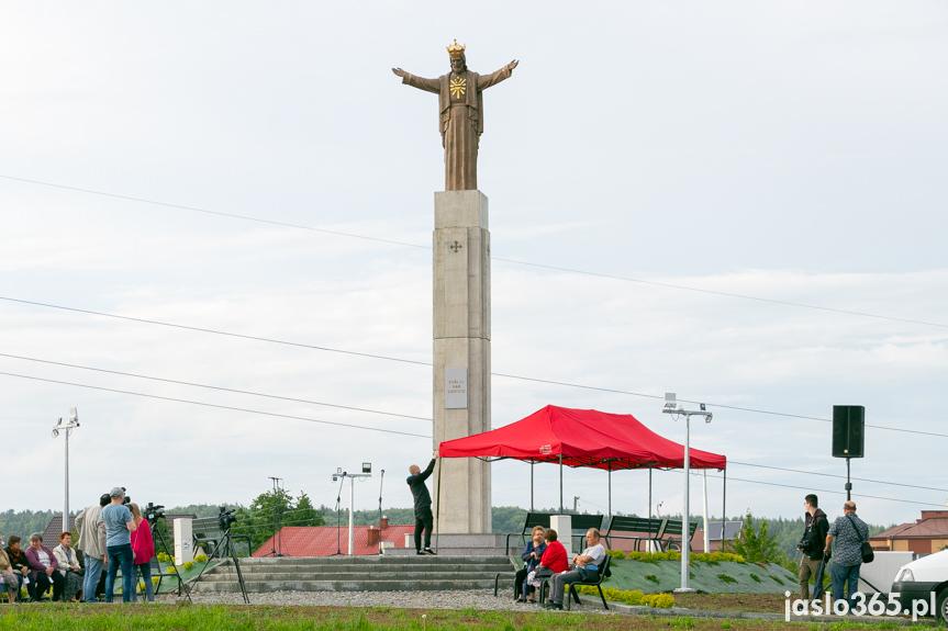 Odsłonięcie i poświęcenie pomnika Chrystusa Króla w Jaśle