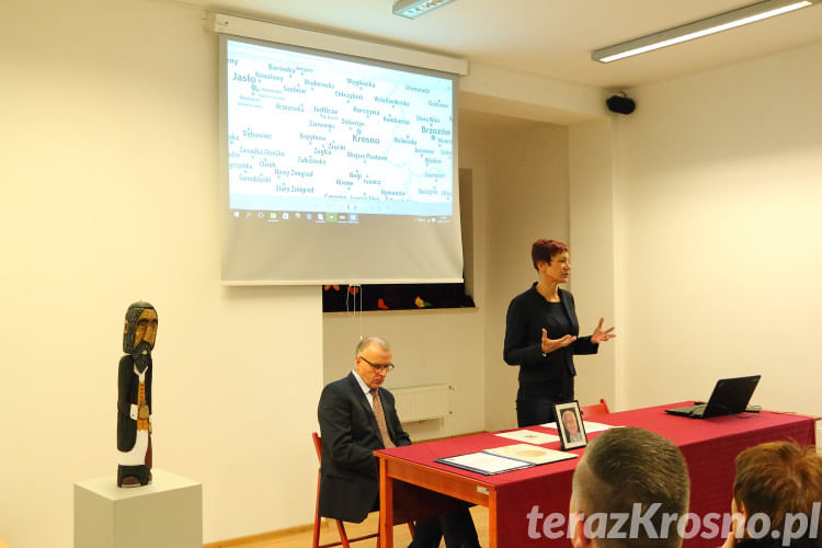 Odsłonięcie pomnika pamięci Żydów w Korczynie