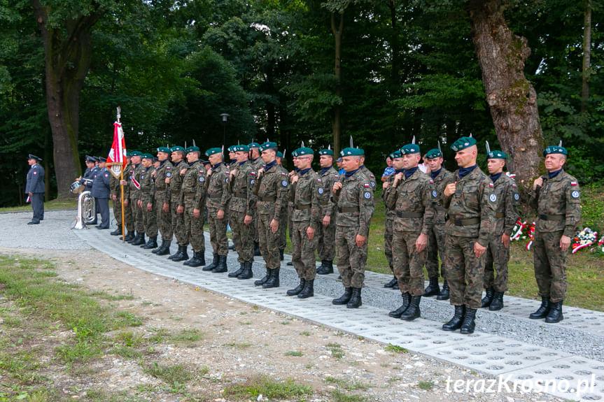 Odsłonięcie pomnika Szlaku Orląt Lwowskich