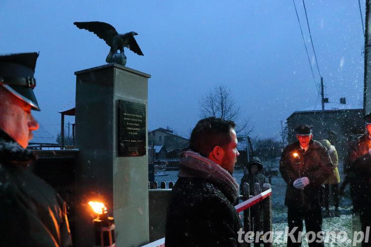 Odsłonięcie pomnika w Widaczu