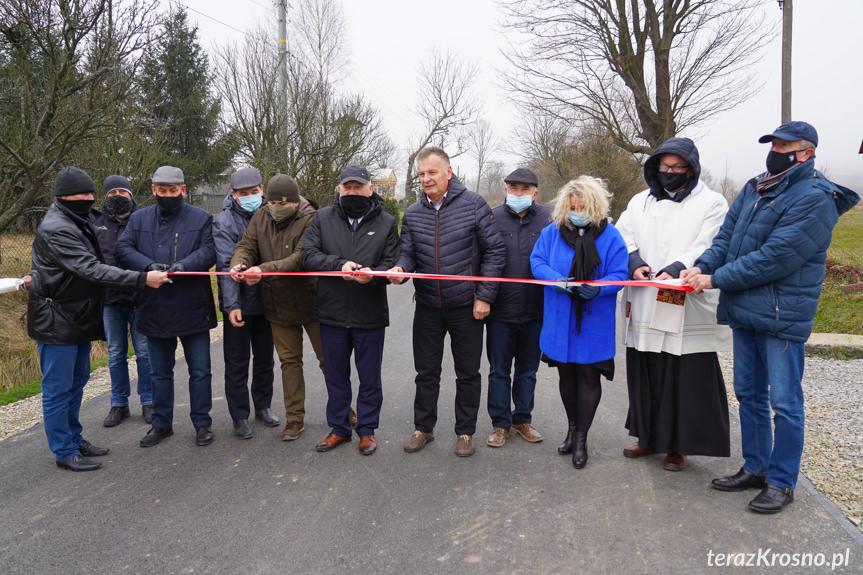 Otwarcie drogi w Jaśliskach