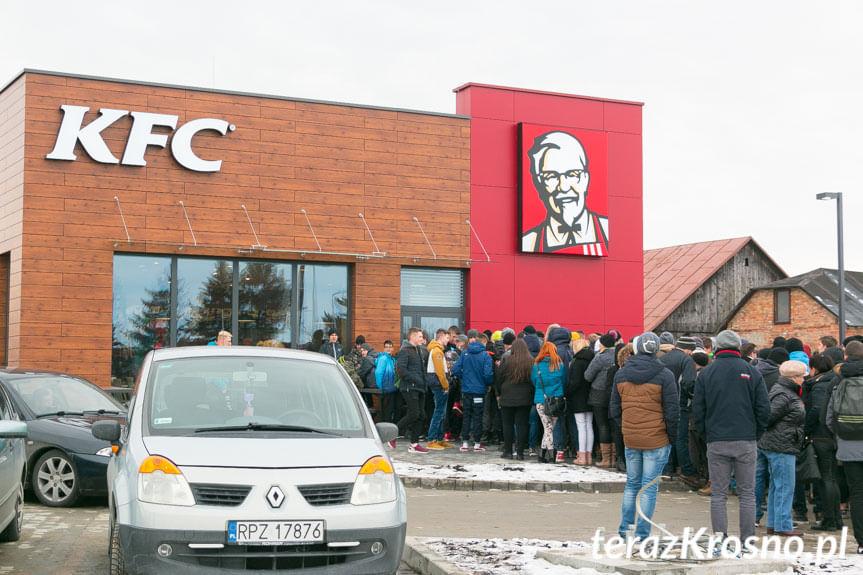 Otwarcie KFC w Krośnie