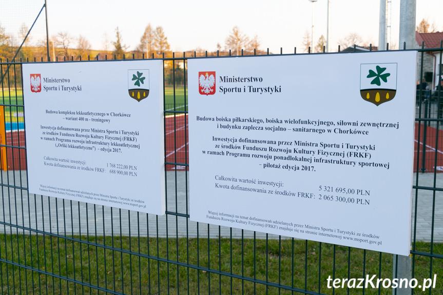 Otwarcie kompleksu boisk w Chorkówce