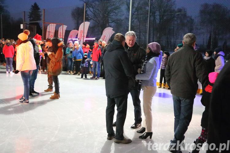 Otwarcie lodowiska w Jedliczu
