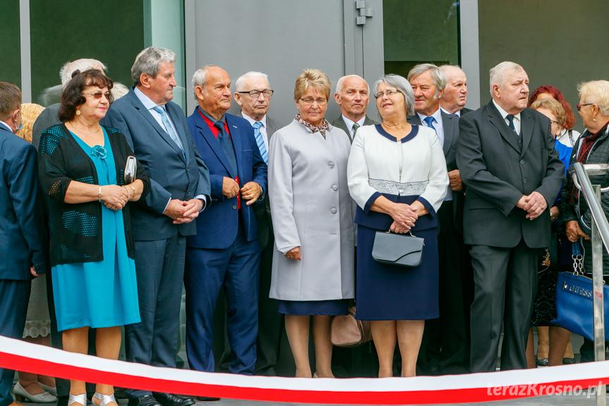 Otwarcie nowego budynku GOK w Rymanowie