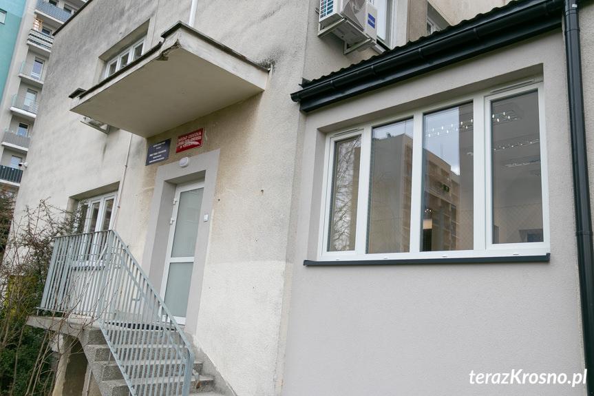 Otwarcie pomieszczenia dla mieszkańcy osiedla Grota-Roweckiego w Krośnie