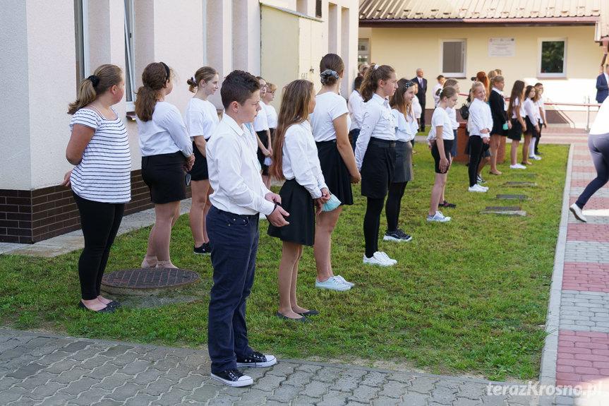 Otwarcie sali gimnastycznej w Łękach Strzyżowskich