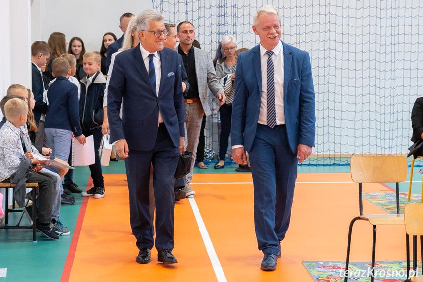 Otwarcie sali gimnastycznej w Lubatówce