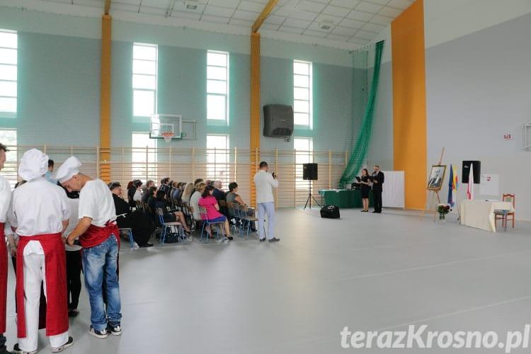 Otwarcie sali gimnastycznej - ZSP Nr 2 Krosno