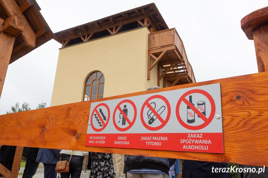 Otwarcie wieży widokowej w Czarnorzekach