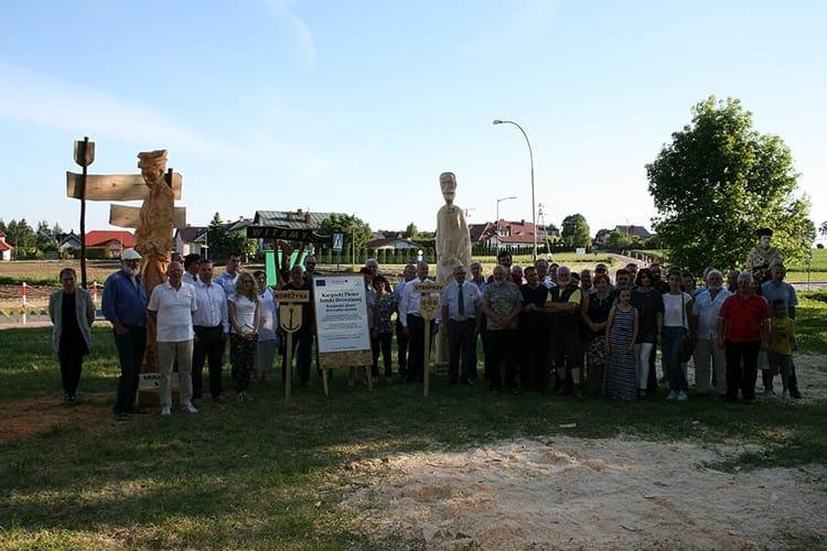 Plener Rzeźbiarski w Korczynie