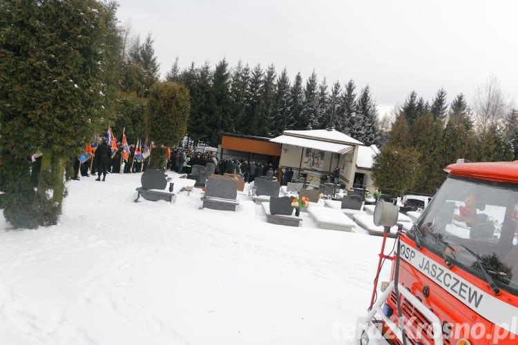 Pogrzeb Edwarda Nowaka