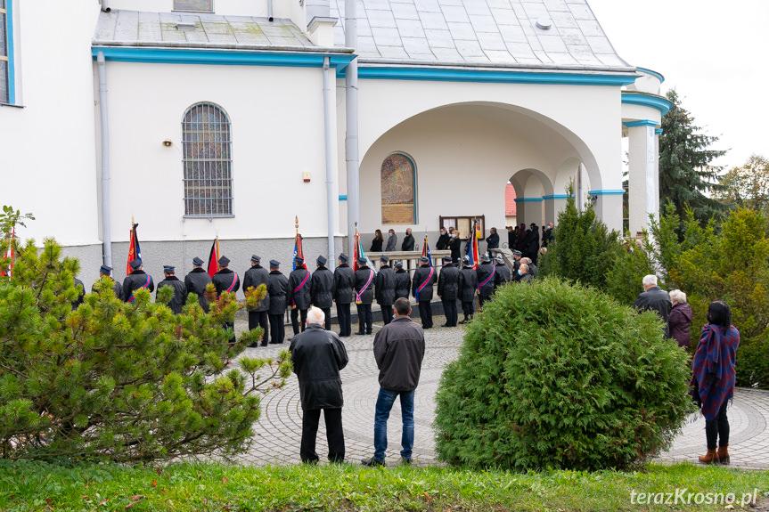 Pogrzeb Jana Czubika w Tarnowcu