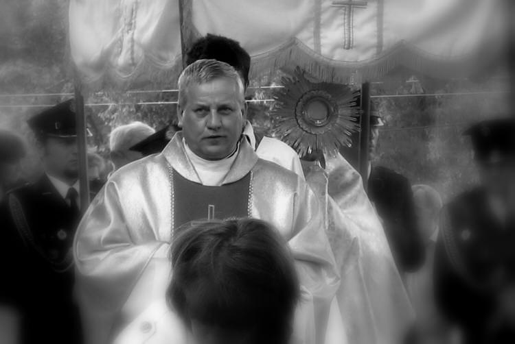 Pogrzeb ks. Ryszarda Strzępka